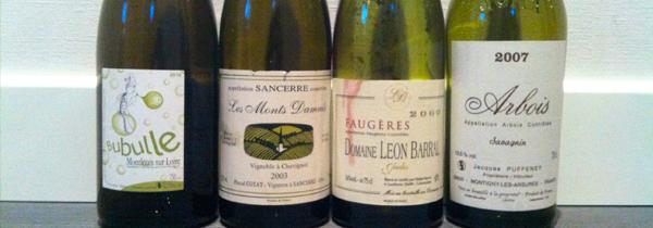 Un week-end avec Barral, Cotat, Jousset et Puffeney… le pied !