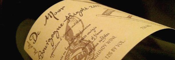 Bourgogne aligoté d'Alice et Olivier De Moor